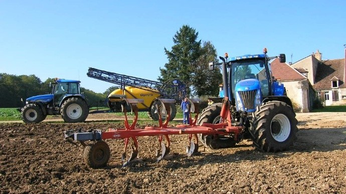 La cote agricole d'occasion tracteur - New Holland TG255, la puissance made in USA