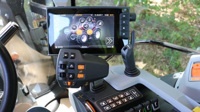 Nouveauté tracteur - SmartTouch: l'heure du numérique a sonné chez Valtra!