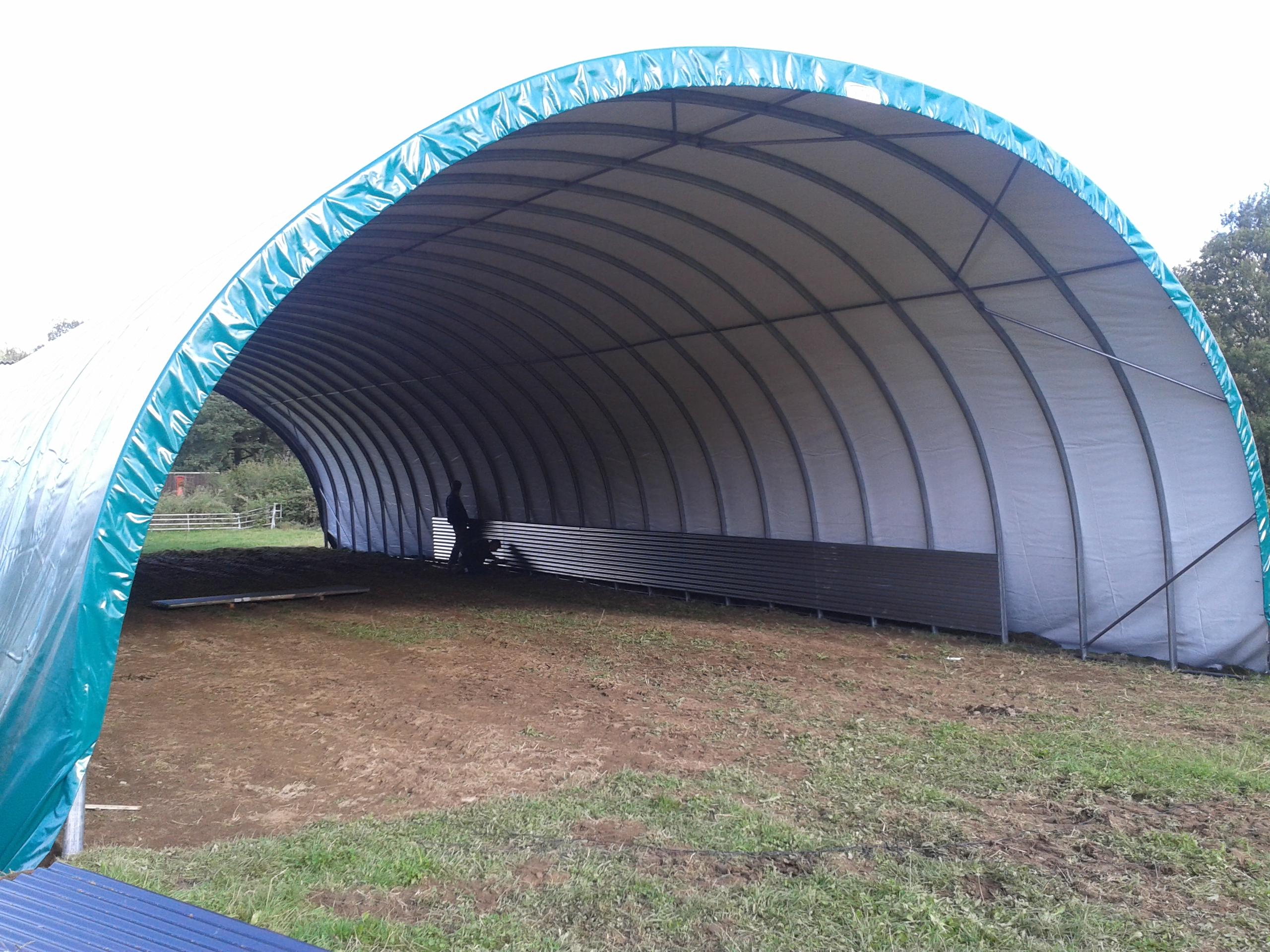 Tunnel agricole occasion comparer les prix et offres - Montage de serre tunnel ...