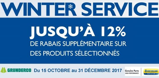 % Winter Service