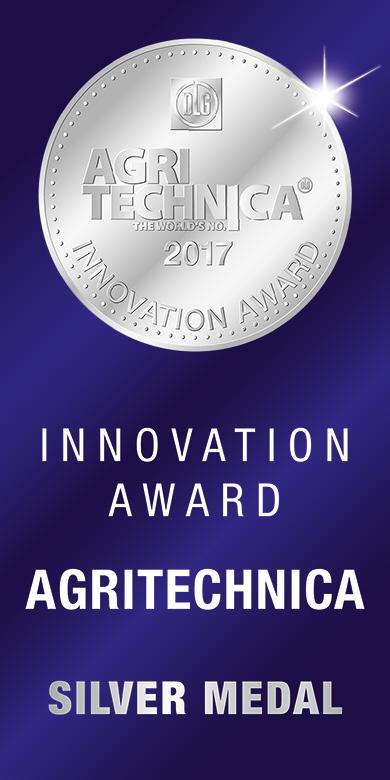 NEW HOLLAND, Innovation Award AGRITECHNICA 2017 Silbermedaille