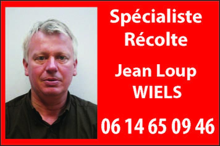 Specialiste Recolte Jean-Loup Wiels
