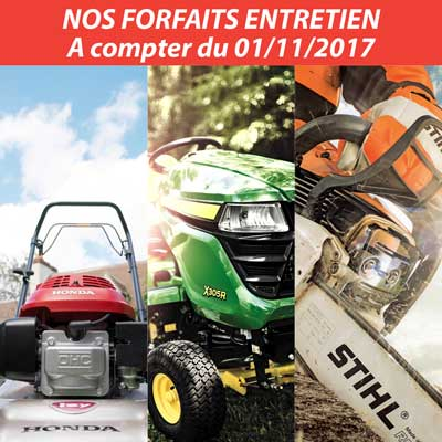 Forfaits SAV Espaces Verts