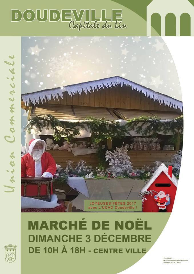 Marché de Noel à DOUDEVILLE