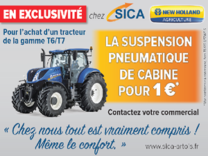 Suspension pneumatique de cabine pour 1€