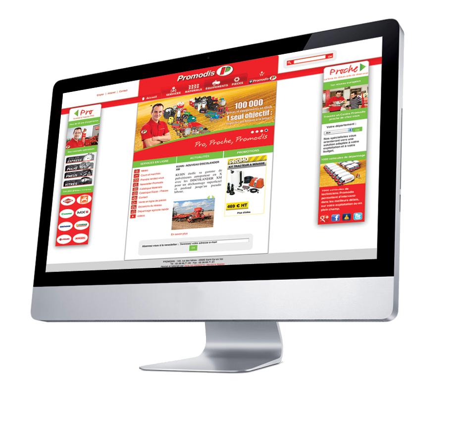 - ¡Bienvenido a nuestra nueva página web Promodis!