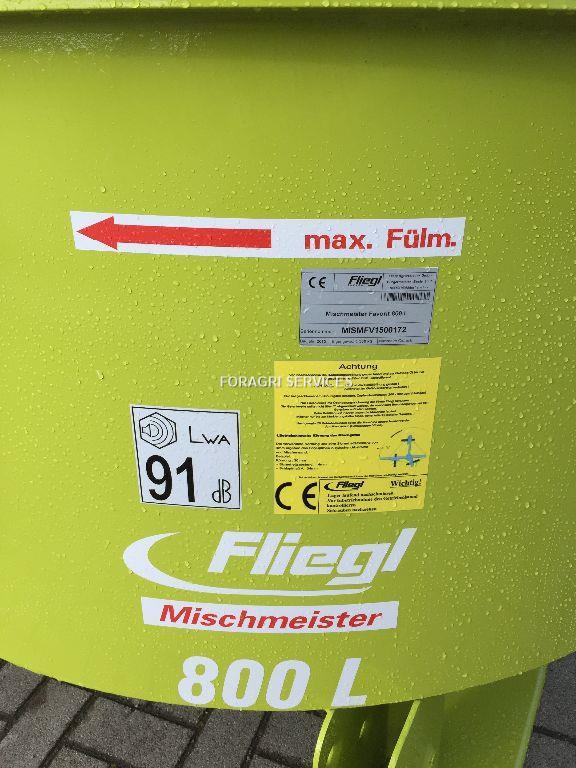 Fliegl Malaxeur 800 litres FAVORIT