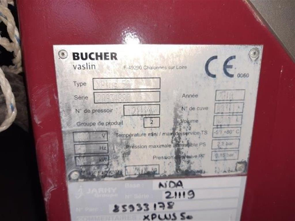 Bucher XPLUS 50