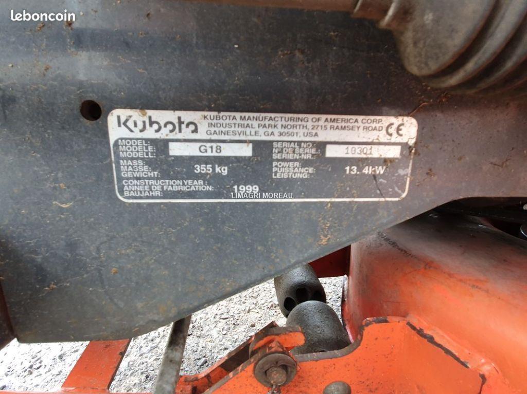 Kubota G18