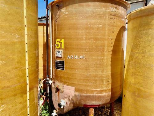 ARSILAC - Cuve fibre - 30 HL