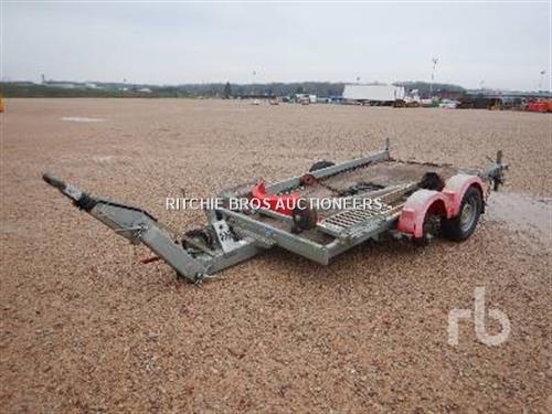 Hubiere H212L 14CF Equipment Trailer T/A