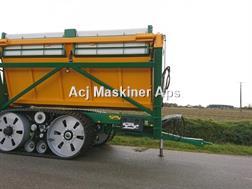 Gourdon TBG 330 Effektiv højtipvogn til overlæsning af afg