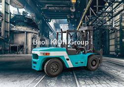 BAOLI Diesel 10 T à CDG 600 mm duplex 4000 mm positionne