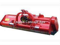 Perrugini MX280 Slagleklipper Bagmonteret m. hydr. Sideforsk