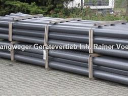 Divers PVC - Druckrohr DN150/160 PN 12,5 Wandstärke 7,7