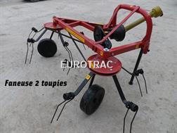 Eurotrac FANEUSE 2 TOUPIES