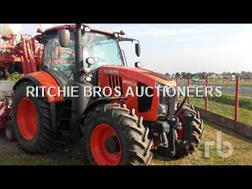 Kubota M7132 4WD Agricultural Tractor
