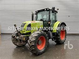 Claas ARION 640 CIS 4WD Agricultural Tractor