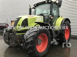 Claas ARION 640 CEBIS 4WD Agricultural Tractor