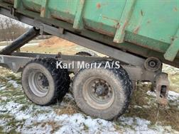 Stronga HL160S kroghejsvogn(uden container)VELHOLDT