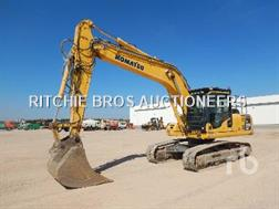 Komatsu PC210NLC-8 excavator