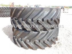Michelin 650/65R38 Qte De 2 Pneus Qty Of 2