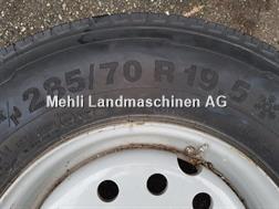 Continental 285/70 R19.5 ET 80 Radsatz