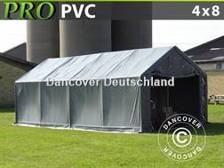 Divers Lagerzelt Zelthalle 4x8x2x3,1 m Lagerhalle PVC
