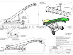 Euro-Jabelmann Förderband, EURO-Carry 4900/650, elektrisch/hydrau