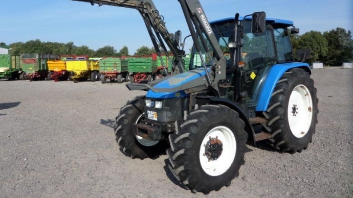 La cote agricole d'occasion tracteur - New Holland TL 90, un tracteur d'élevage simple et efficace