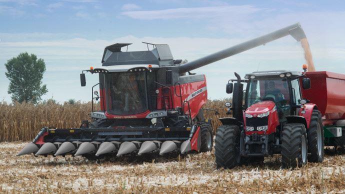 Cueilleurs à maïs - Corn Flow: le premier cueilleur signé Massey Ferguson