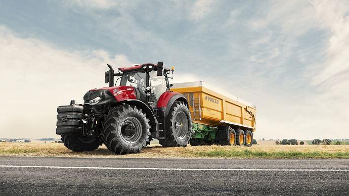 Nouveauté tracteur Case IH - La famille Optum s'agrandit