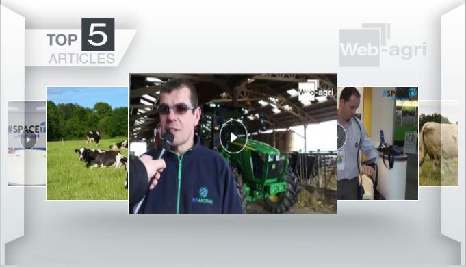 Top articles - L'essai du John Deere 5R par Frédéric Anty passionne les éleveurs