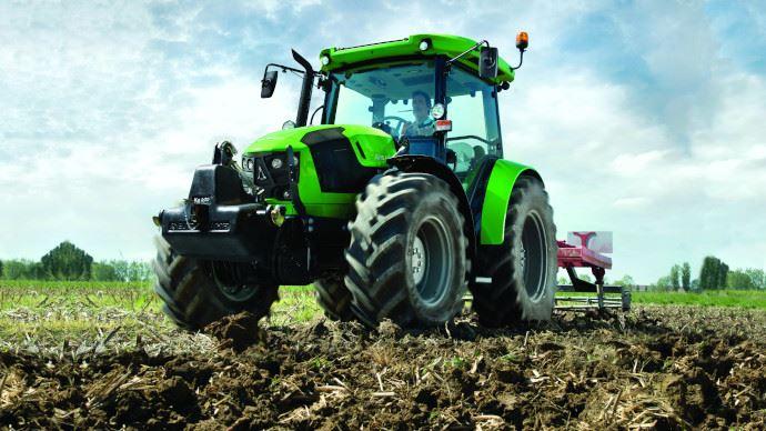 Tracteur d'élevage Deutz-Fahr - Et si la 5G aidait les éleveurs à passer au haut-débit?