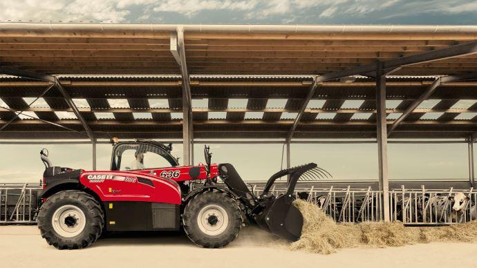 Télescopique Case IH - Plus de capacité et de confort pour la gamme Farmlift!
