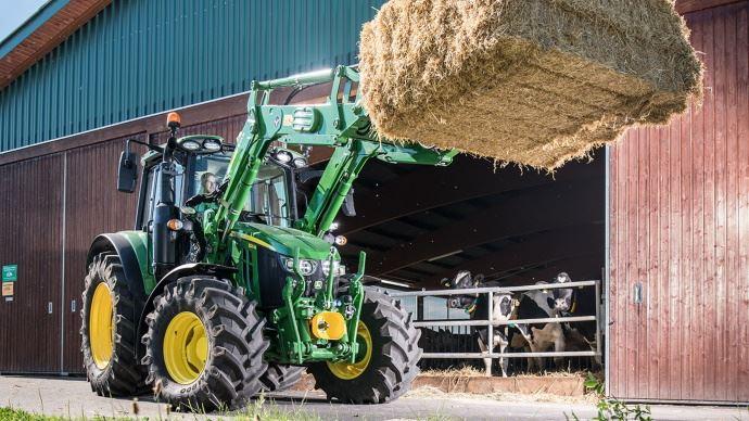 Tracteurs 6M - John Deere sort sa gamme compacte et maniable