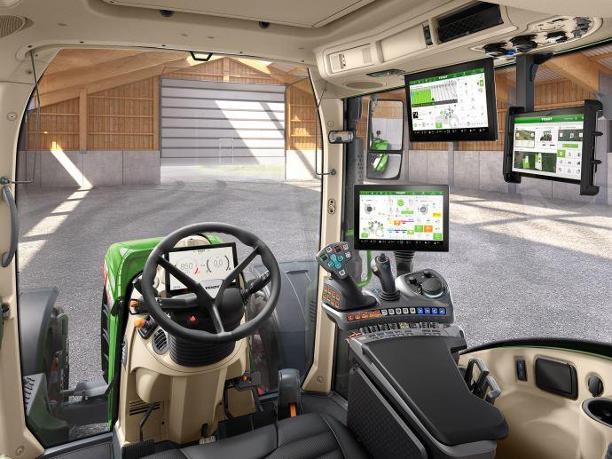 Tracteurs - Fendt One: la cabine dernier cri pour les 700 et le nouveau 314 Vario
