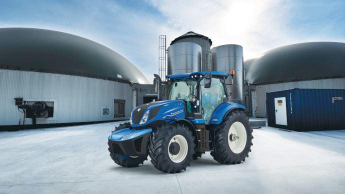 Tracteur au méthane - Plein gaz chez New Holland, le T6.180 Methane Power débarque dans les fermes!