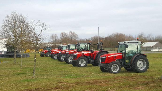 Massey Ferguson - Les propriétaires de tracteurs peuvent bénéficier d'une flotte de courtoisie