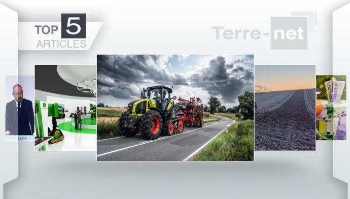 Top articles - À la Une: l'agriculture du futur par John Deere et l'Axion 900 Terra Trac