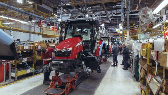 Usine Massey Ferguson - 40 millions d'euros pour agrandir le site de Beauvais!