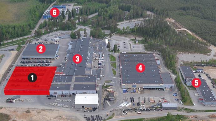 Valtra - Un centre logistique de 8000m² à Suolahti en Finlande