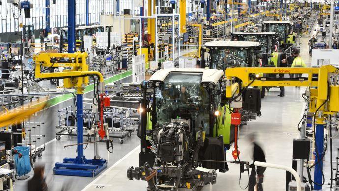 Covid-19 - Claas stoppe la production dans ses usines françaises