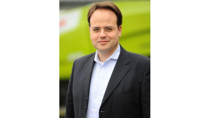 Groupe Claas - Christian Radons prend en charge la direction des ventes au niveau mondial