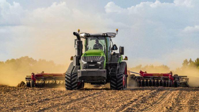 Tracteur à chenilles - Fendt 1100 Vario MT: jusqu'à 673ch et une boîte Vario