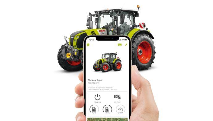 Appli mobile Claas Connect - Déchiffrer un code erreur et commander les pièces depuis son smartphone