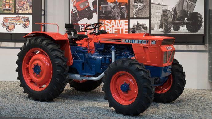 Collector - Un tracteur Same Ariete de 1969 venu de France exposé au musée de Tréviglio