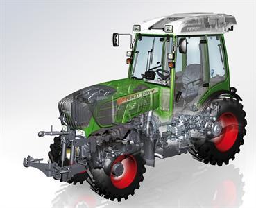 Tracteurs spécialisés - Fendt 200 Vario: il a tout des grands