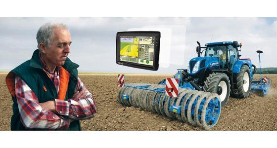 Essai Terre à Terre 2011/Autoguidage New Holland - Alain Cugnet: « Je veux gagner le maximum de temps »
