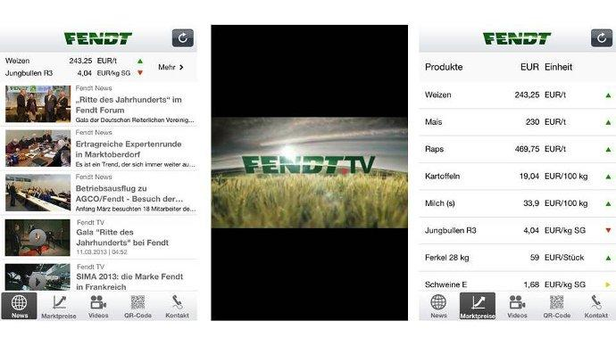 Application mobile - Un portail d'info avec une web TV pour suivre l'actualité de Fendt